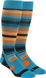 New Stance Portillo Thermolite Compression Snowboard Socks S/M Blue