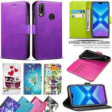 Per Huawei Honor 8X Lusso Portafoglio in Pelle Stand Cover Custodia Flip con slot per schede