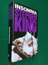 Stephen KING - INSOMNIA ,  Ed Euroclub (1995) Libro Cop Rigida OTTIMO