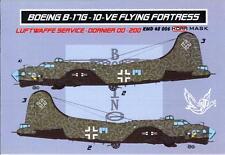 KORA Models PAINT MASKS 1/48 BOEING B-17G FLYING FORTRESS IN LUFTWAFFE SERVICE