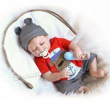 22'' Full Silicone Reborn Baby Doll Bathe Best Bebe Reborn Doll 57cm