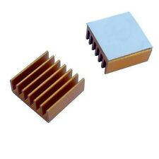 Lot of 8pcs Aluminum Memory Chipset Heatsinks 14mm x 14mm x 6mm