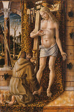 Saint Francis collecting the blood of cristiano-Carlo Crivelli Gesù B a3 01000