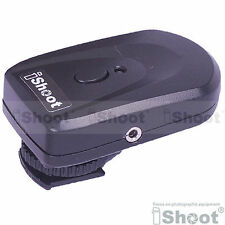 Transmitter for iShoot PT-04 Wireless Radio Remote Flash Trigger&Canon Camera