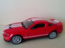 KINSMART 2007 SHELBY GT500 RED SCALE 1/38 DIECAST CAR