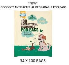 Armitage Good Boy Antibacterial Degradable Scented Dog Poo Poop Waste Bags 100pk