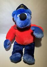 Käpt'n Blaubär Kuscheltier Stofftier Plüsch Sendung mit der Maus 40cm 1997 Bär
