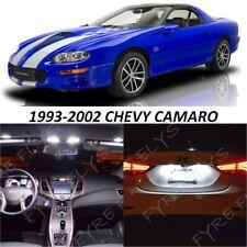 9 White LED Interior Lights Package Kit for 1993-2002 Chevrolet Camaro +Tool PF1