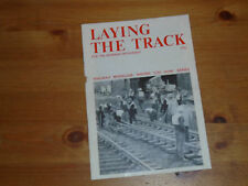 LAYING THE TRACK how to booklet