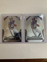 *LOT OF 2* Irv Smith Jr.  2019 Panini Prizm Rookie Card RC #366 Vikings