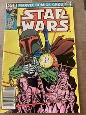 Star Wars 68 Boba Fett Cover And Origin Key! Movie! High Grade
