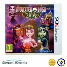 Monster High 13 Wishes (Nintendo 3DS) **GREAT CONDITION**