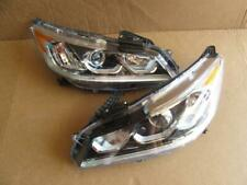 2016-2017 Honda Accord LH Driver & RH Passenger Side Headlights Headlight Lamps