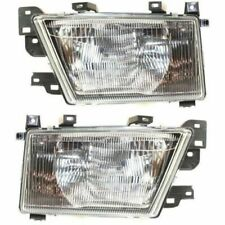Set of 2 Driver & Passenger Side Head Lamp Assembly Fits 99-2000 Subaru Forester