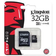 Kingston Carte Mémoire 32 Go Micro SD SDHC Avec Adaptateur class 10