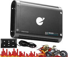 PSA4CB PlanetAudio Bluetooth 4 Ch. 500watt Mini Amplifier Remote 5.25x1.5x7.5 em