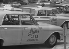 1962 Whites Only Taxi Cabs PHOTO Black Civil Rights,Segregation, Albany, Georgia
