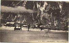CPA   Chamonix  - Scéne de Patinage    (173479)