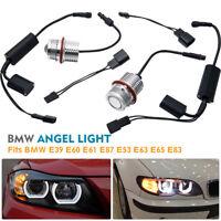 BMW 90W Angel Eye CREE LED Halo Light Bulb Fits E39 E60 E61 E87 E53 E63 E65 E83