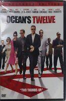 Oceans Twelve (DVD, 2005, Widescreen) Julia Roberts, George Clooney, Brad Pitt