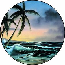 Sunset #2 Spare Tire Cover Jeep Rv Camper Trailer Vw etc(all sizes available)