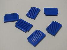 Lego 6 petits volets bleus set 163 694 6079 360 7760  / 6 blue shutters