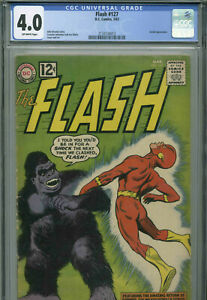 The Flash # 127 - March, 1962 - CGC 4.0