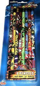 Power Rangers Dino Thunder 10 Pencils set New Factory Sealed 2003
