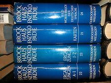 große BROCKHAUS 17. Auflage zusatzband  Ergänzungsband nr. 22 ERGÄNZUNGEN selten