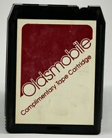 Vintage 8 Track UNTESTED Oldsmobile Complimentary J Geils Rogers Ronstadt 1980