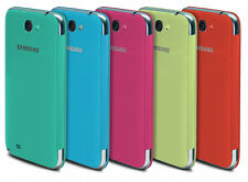 GENUINE Samsung Flip Premium Case Cover for Samsung Galaxy Note 2 N7100