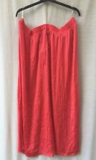 Autograph Plus Size 26 Maxi Skirt NEW+TAGS Orange Smart Casual Party Evening
