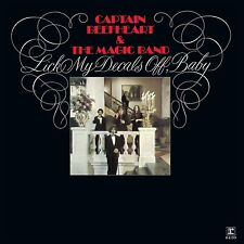Captain Beefheart LICK MY DECALS OFF BABY 4th Album RHINO RECORDS New Vinyl LP