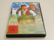 Peter Jackson Collection - Bad Taste - Meet the Feebles - Braindead - Aliens DVD