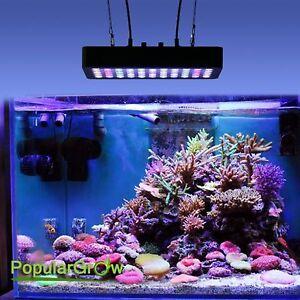 165W Dimmable LED Aquarium lamp für Süßwasser Marine coral Fischtank Beleuchtung
