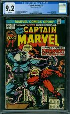 Captain Marvel 33 CGC 9.2 - White Pages