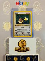Eevee 55/82 1st Edition NM Near Mint Team Rocket Non-Holo Pokemon Card