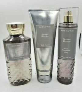 Bath & Body Works Sweater Weather Collection