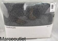 Calvin Klein Home Modern Cotton Ray Full / Queen Duvet Cover Black Cream