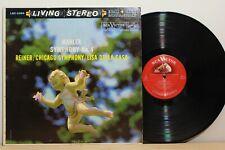 RCA LSC 2364 - REINER - Mahler Symphony 4 - 1ST US LIVING STEREO LP - 5S/9S