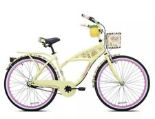 "🔥🔥Kent 26"" Margaritaville Women's 3-Speed Cruiser Bike, Yellow🔥🔥"