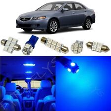 12x Blue LED Interior Lights Package Kit for 2004-2008 Acura TSX + Tool AT2B