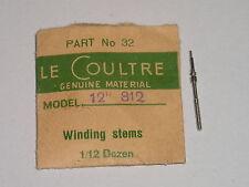 Lecoultre winding stem 408 417 425 428 461 471 472 473 474 475 Tige de remontoir