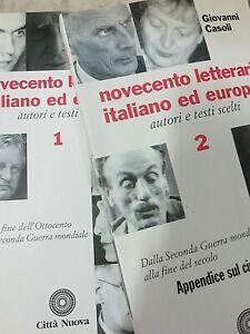 Novecento letterario italiano ed europeo - 2 vol - G. Casoli - Città Nuova