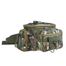 Saltwater Fishing Tackle Bag Reel Lure Crossbody Freshwater Waist Storage Kit
