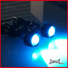 Super Bright Blue CREE LED Mirror Mount Projector Lights