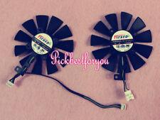 87mm ASUS GTX1060 GTX1070 RX470 Dual Fan Replace FDC10U12S9-C 0.45A #M289A QL