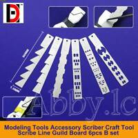 Modeling Tools Accessory Scriber Craft Tool Scribe Line Guild Board 6 PCs B set