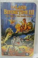 THE LAND BEFORE TIME  III: THE TIME OF THE GREAT GIVING (VHS, 1995, Clamshell)
