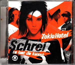 "CD ALBUM  TOKIO HOTEL   ""SCHREI"""